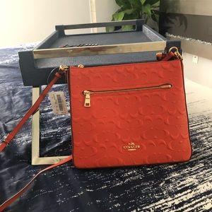 Coach over the shoulder purse